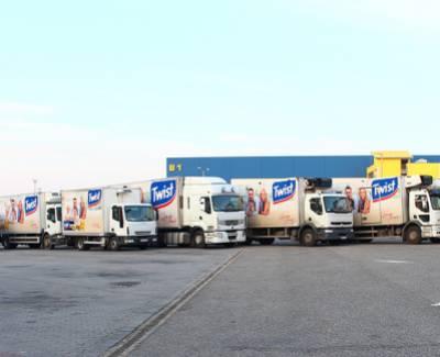 Kamionfotózás - Del Pierre Central Europe Kft.